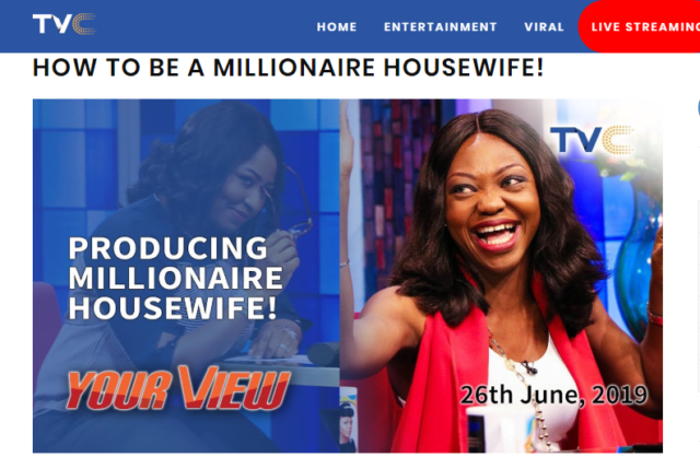 How to be a Millionaire Housewife – Your View on TVC