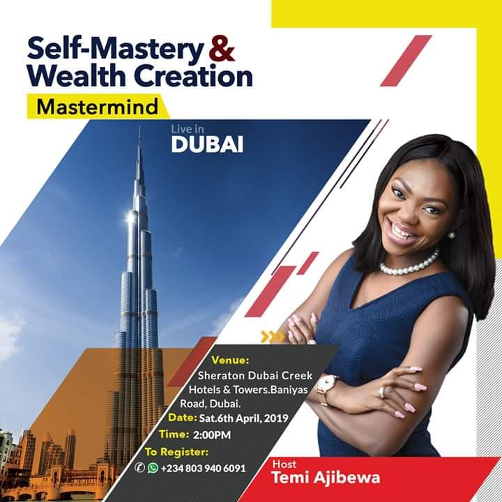 Self-Mastery & Wealth Creation Mastermind In Dubai.