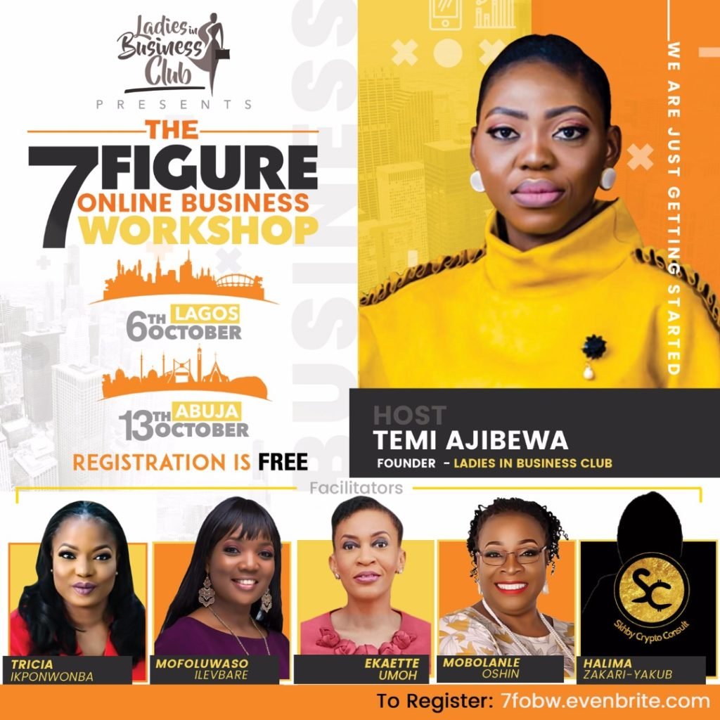 The 7 Figure Online Business Workshop 2018
