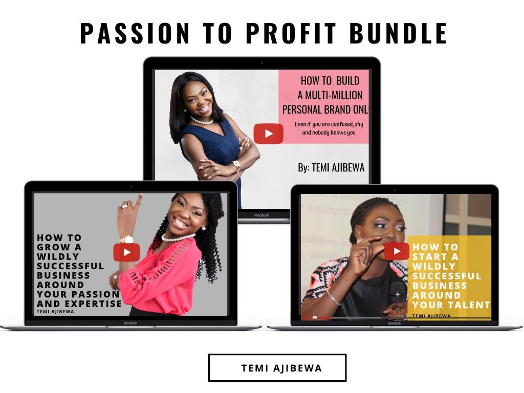 Passion to profit bundle