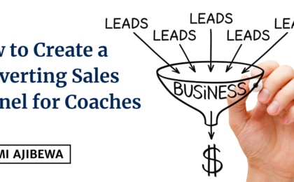 how to create a converting sales funnel for coaches